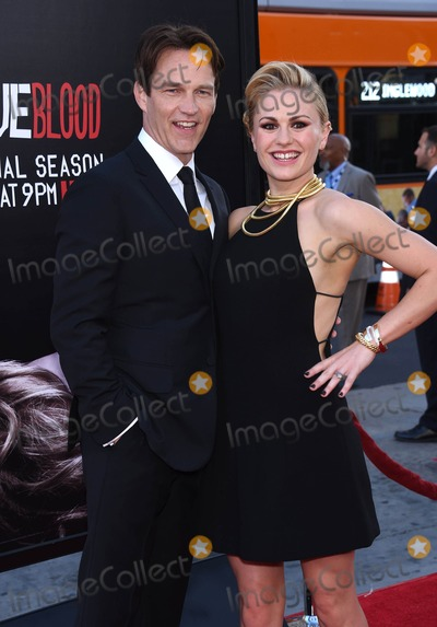 Anna Paquin- Photo - Photo by KGC-11starmaxinccomSTAR MAX2014ALL RIGHTS RESERVEDTelephoneFax (212) 995-119661714Stephen Moyer and Anna Paquin at the 7th and final season premiere of True Blood(Hollywood CA)