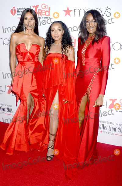 Terry Ellis Photo - Photo by Dennis Van TinestarmaxinccomSTAR MAXCopyright 2018ALL RIGHTS RESERVEDTelephoneFax (212) 995-11962818Cindy Herron Terry Ellis and Rhona Bennett of En Vogue at the American Heart Associations (AHA) 2018 Go Red For Women Red Dress Collection Fashion Show in New York City(NYC)