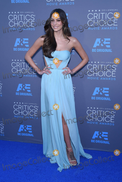 Genesis Photo - Photo by KGC-11starmaxinccomSTAR MAX2015ALL RIGHTS RESERVEDTelephoneFax (212) 995-119611515Genesis Rodriguez at the 20th Annual Critics Choice Movie Awards(Hollywood CA)