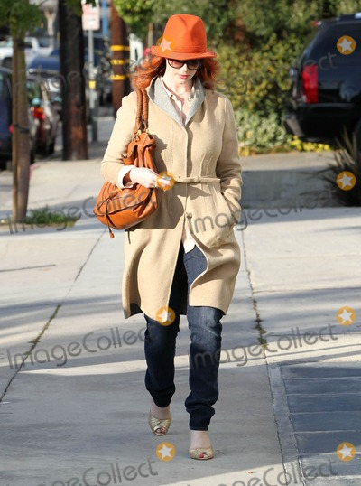 Andy LeCompte Photo - Photo by VPRFstarmaxinccom201012910Christina Hendricks arrives at the Andy Lecompte Salon(West Hollywood CA)