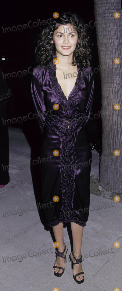 Audrey Tautou Photo - Photo by Russ Einhorn 1092001 Star Max Inc 2001Film Premiere AmelieThe Academy of Motion Picture Arts and SciencesBeverly Hills CaliforniaThe films star  Audrey Tautou No1