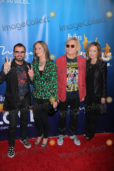 Joe Walsh Photo - Photo by Raoul GatchalianstarmaxinccomSTAR MAX2016ALL RIGHTS RESERVEDTelephoneFax (212) 995-119671416Ringo Starr Barbara Bach Joe Walsh and Marjorie Bach at The Beatles Love Cirque Du Soleil in honor of the shows 10th Anniversary at The Mirage Resort and Casino(Las Vegas Nevada)