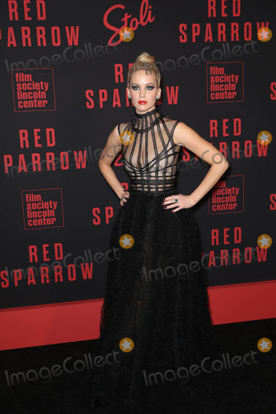 Jennifer Lawrence Photo - Photo by John NacionstarmaxinccomSTAR MAX2018ALL RIGHTS RESERVEDTelephoneFax (212) 995-119622618Jennifer Lawrence at the premiere of Red Sparrow in New York City