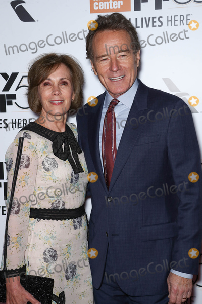 Bryan Cranston Photo - Photo by John NacionstarmaxinccomSTAR MAXCopyright 2017ALL RIGHTS RESERVEDTelephoneFax (212) 995-119692817Robin Dearden and Bryan Cranston at the premiere of Last Flag Flying on the opening night of the 55th New York Film Festival(NYC)