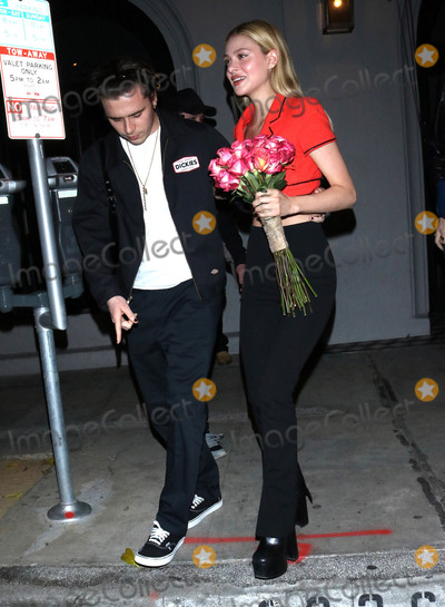 Brooklyn Beckham Photo - Photo by OGUTstarmaxinccomSTAR MAX2020ALL RIGHTS RESERVEDTelephoneFax (212) 995-11961720Brooklyn Beckham and Nicola Peltz are seen in Los Angeles CA