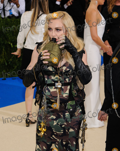 Madonna Photo - Photo by ESBPstarmaxinccomSTAR MAXCopyright 2017ALL RIGHTS RESERVEDTelephoneFax (212) 995-11965117Madonna at the 2017 Costume Institute Gala - Rei KawakuboComme des Garcons Art Of The In-Between(Metropolitan Museum of Art NYC)