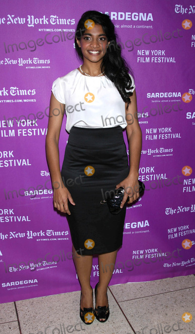 Amara Karan Photo - Photo by Victor Malafrontestarmaxinccom200792807Amara Karan at the premiere of The Darjeeling Limited on the opening night of the 45th Annual New York Film Festival(Avery Fisher Hall NYC)