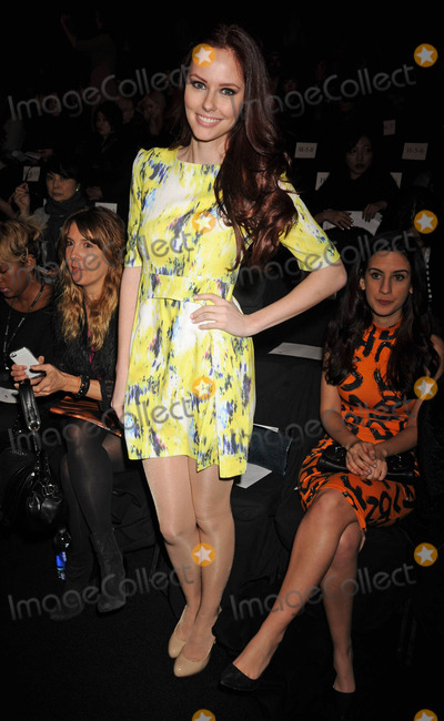 Alyssa Campanella Photo - Photo by Demis Maryannakisstarmaxinccom2014ALL RIGHTS RESERVEDTelephoneFax (212) 995-11962714Alyssa Campanella at The Mercedes Benz Fashion Week(NYC)