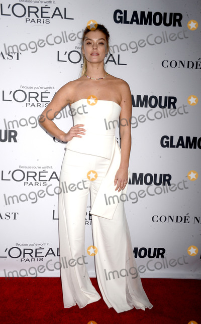 Nina Agdal Photo - Photo by Dennis Van TinestarmaxinccomSTAR MAXCopyright 2017ALL RIGHTS RESERVEDTelephoneFax (212) 995-1196111317Nina Agdal at The 2017 Glamour Women Of The Year Awards in Brooklyn New York City(NYC)