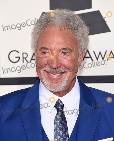 Tom Jones Photo - Photo by KGC-11starmaxinccomSTAR MAX2015ALL RIGHTS RESERVEDTelephoneFax (212) 995-11962815Tom Jones at the 57th Grammy Awards(Los Angeles CA)
