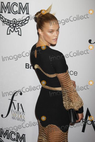 Nina Agdal Photo - Photo by Victor MalafrontestarmaxinccomSTAR MAX2017ALL RIGHTS RESERVEDTelephoneFax (212) 995-11969817Nina Agdal at The Daily Front Rows Fashion Media Awards in New York City