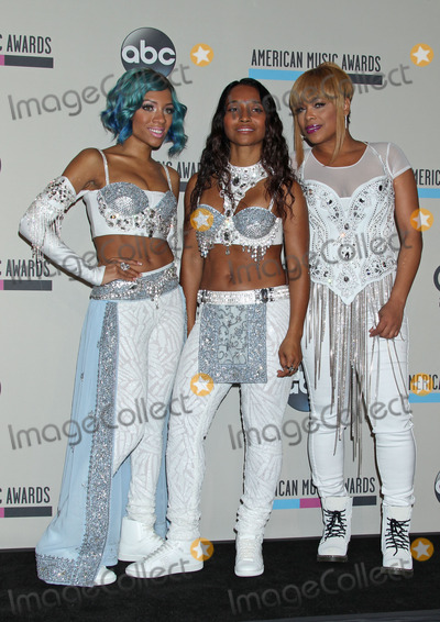 Tionne T-Boz Watkins Photo - Photo by REWestcomStarmaxinccom2013ALL RIGHTS RESERVEDTelephoneFax (212) 995-1196112413Lil Mama and TLCs Tionne T-Boz Watkins and Rozonda Chilli Thomas American Music Awards - Press Room at the Nokia Theatre LA Live (Los Angeles CA)