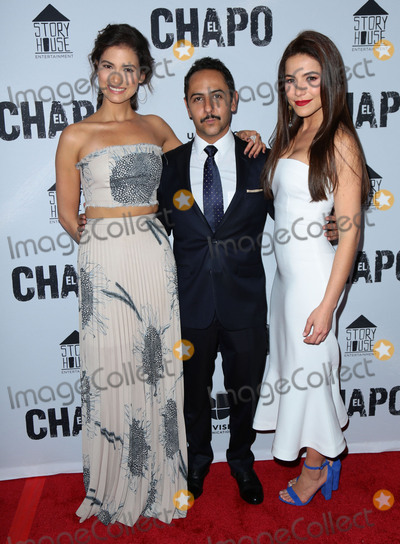 El Chapo Photo - Photo by gotpapstarmaxinccomSTAR MAXCopyright 2017ALL RIGHTS RESERVEDTelephoneFax (212) 995-119641917Abril Schreiber Humberto Busto and Juliette Pardau at the premiere of El Chapo(Los Angeles CA)