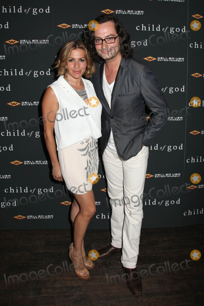 ANGEL REED Photo - Photo by HQBstarmaxinccom2014ALL RIGHTS RESERVEDTelephoneFax (212) 995-119673013Constantine Maroulis (R) and Angel Reed at the premiere of Child of God(NYC)