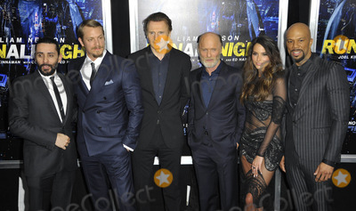Genesis Photo - Photo by Patricia SchleinstarmaxinccomSTAR MAX2015ALL RIGHTS RESERVEDTelephoneFax (212) 995-11963915Joel Kinnaman Liam Neeson Ed Harris Genesis Rodriguez and Common at the premiere of Run All Night(NYC)
