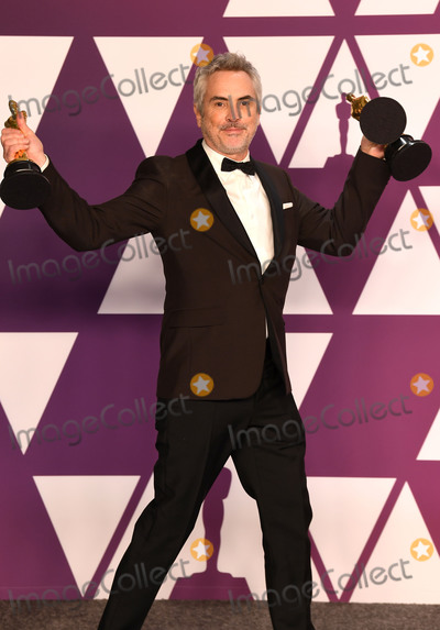 Alfonso Cuaron Photo - Photo by Doug PetersstarmaxinccomSTAR MAXCopyright 2019ALL RIGHTS RESERVEDTelephoneFax (212) 995-119622419Alfonso Cuaron winner of the Best Director Award Best Foreign Film Award and Best Cinematography Award for Roma at the 91st Annual Academy Awards (Oscars) presented by the Academy of Motion Picture Arts and Sciences(Hollywood CA USA)