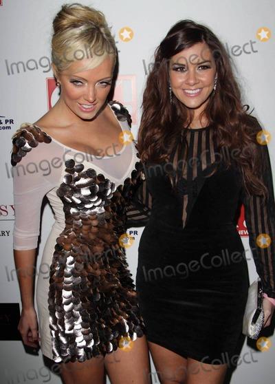 Aisleyne Horgan-Wallace Photo - Imogen Thomas and Aisleyne Horgan-Wallace at the OK Magazine Christmas Party at Embassy London London UK 12610
