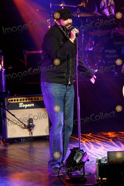 Alejandro Sanz Photo - Latin pop singer Alejandro Sanz performs live at The Gibson Amphitheatre with friends Dominican singer Juan Luis Guerra and Ricardo Montaner  Over his 19-year career Sanz has won 14 Latin Grammy Awards 2 Grammy Awards and has collaborated with Colombian pop star Shakira Juan Luis Guerra pictured Los Angeles CA 072310