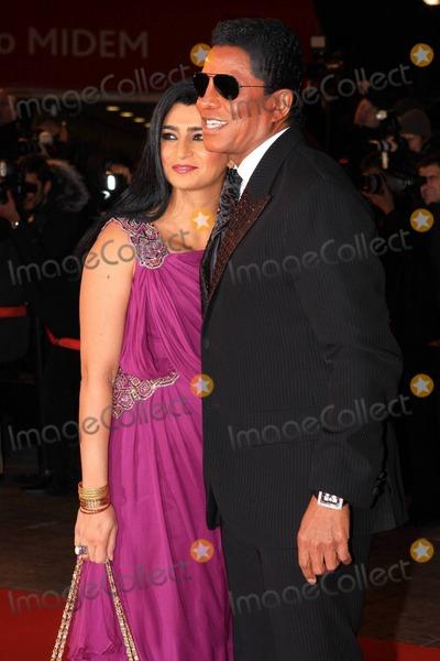 Halima Rashid Photo - Jermaine Jackson and Halima Rashid attend the 12th annual NRJ Music Awards held at the Palais des Festivals et des Congrs Cannes FR 012211