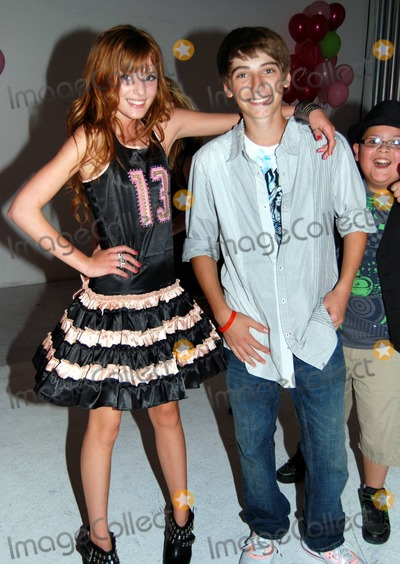 Bella Thorne Photo - Tween actress Bella Thorne celebrates her 13th birthday with a Hoops and Yoyo-themed party at Siren Studios The party was sponsored by Sugar Factory Hollywood CA 10910