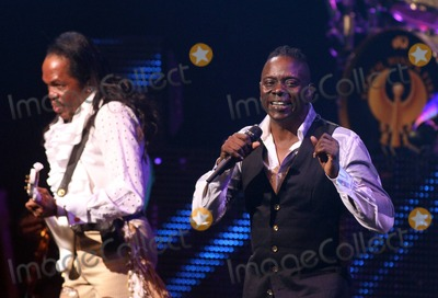 Earth Wind  Fire Photo - Verdine White (L) and Philip Bailey of Earth Wind  Fire perform in concert at the Durham Performing Arts Center in Durham NC 18th September 2011