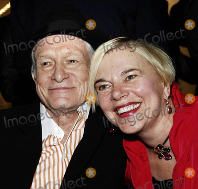 Playboy Magazine Photo - Hugh Hefner and Brigitte Berman attend a screening of Hugh Hefner Playboy Activist and Rebel a documentary about the Playboy magazine founder directed by Oscar winning documentarian Bermanheld held at the Gene Siskel Film Center Chicago IL 102910