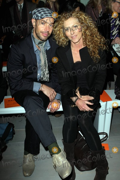 Amanda Wakeley Photo - Jason Gardiner and Kelly Hoppen at the Amanda Wakeley fashion show during London Fashion Week London UK 22211