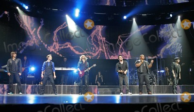 Andrew Garcia Photo - Tim Urban Aaron Kelly Casey James Lee DeWyze Michael Lynch and Andrew Garcia (L-R) perform in concert as part of the American Idol 2010 tour at the BankAtlantic Center in Sunrise FL 8310