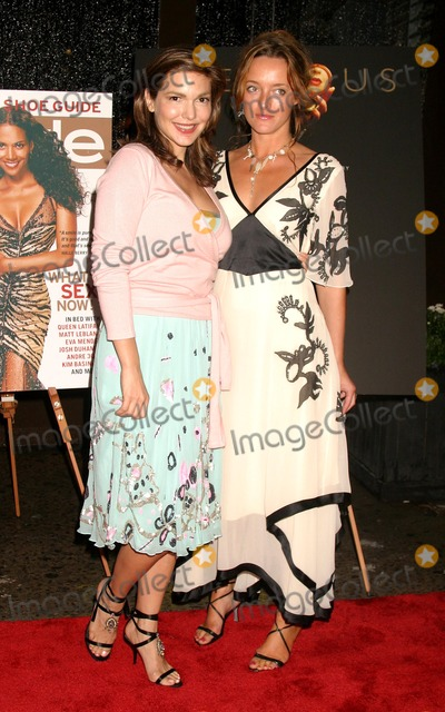 Alice Temperley Photo - Laura Harring and Alice Temperley Arriving at the Publication Party For Precious by Melanie Dunea and Nigel Parry at One Little West 12 in New York City on September 8 2004 Photo by Henry McgeeGlobe Photos Inc 2004