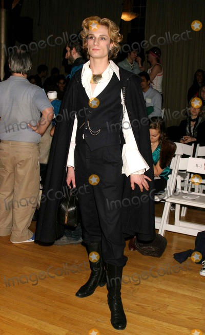 Austin Scarlett Photo - Austin Scarlett (Project Runway) at Jeremy Scott Showing of Fall Collection at the Altman Building in New York City on 02-11-2005 Photo by Henry McgeeGlobe Photos Inc 2005