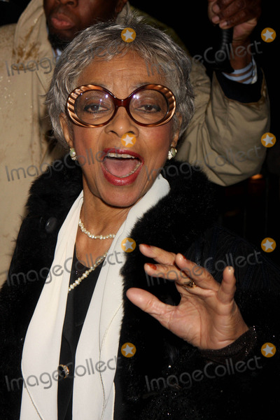 August Wilson Photo - Ruby Dee Arriving at the Opening Night Performance of August Wilsons Fences at the Cort Theatre in New York City on 04-26-2010 Photo by Henry Mcgee-Globe Photos Inc 2010