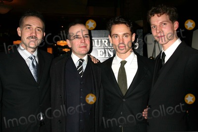 Stark Sands Photo - Boyd Gaines Jefferson Mays Hugh Dancy and Stark Sands Arriving at the Post Performance Party For the Opening Night of Journeys End at Bond 45 in New York City on 02-22-2007 Photo by Henry McgeeGlobe Photos Inc 2007