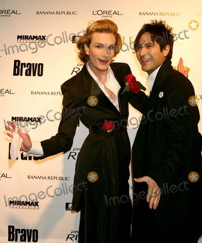 Austin Scarlett Photo - Austin Scarlett and Daniel Franco (Project Runway Contestants) Arriving at a Launch Party For Bravos Project Runway at Pm Lounge in New York City on 11-30-2004 Photo by Henry McgeeGlobe Photos Inc 2004