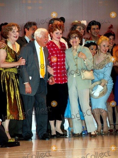 Adolph Green Photo - Sd061001 Bells Are Ringing Last Performance at the Plymouth Theatre NYC Adolph Green_faith Prince_betty Comden Photo by Henry McgeeGlobe Photosinc Obit