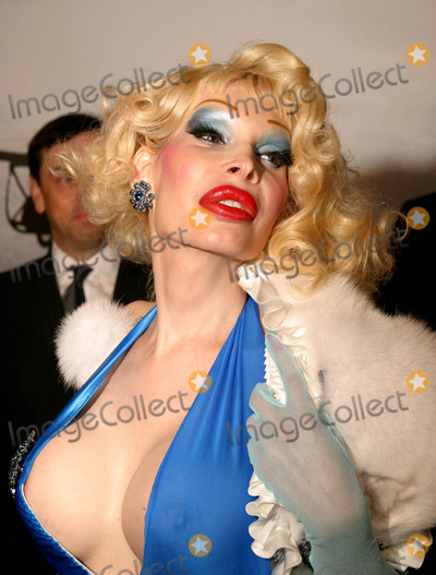 Amanda Lepore Photo - Amanda Lepore Arriving at Cartier Santos Night to Celebrate the 100 Year Anniversary of the Cartier Santos Watch at the Armory in New York City on May 25 2004 Photo by Henry McgeeGlobe Photos Inc 2004