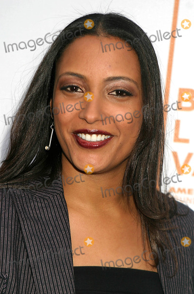 Anika Poitier Photo - Anika Poitier Arriving at the Tribeca Film Festival Premiere of the Devil Cats at United Artists Battery Park Theatres in New York City on May 6 2004 Photo by Henry McgeeGlobe Photos Inc 2004