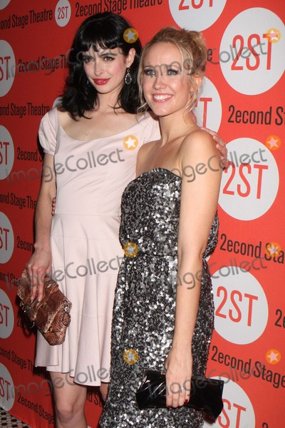 Anna Camp Photo - Krysten Ritter and Anna Camp Arriving at the Opening Night Party For Second Stage Theatres Production of All New People at Hb Burgers in New York City on 07-25-2011 Photo by Henry Mcgee-Globe Photos Inc 2011
