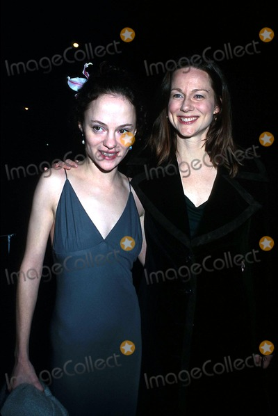 Angela Bettis Photo -  3702 the Crucible Opening Night of the Play at the Virginia Theatre in NYC Angela Bettis and Laura Linney Photo by Henry McgeeGlobe Photos Inc