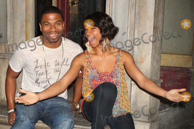 Jason Williams Photo - New York NY 03-21-2010Monique Coleman and pal Jason Williams posing on stage after seeing her HIGH SCHOOL MUSICAL co-star Corbin Bleus performance in the Broadway musical IN THE HEIGHTS at the Richard Rodgers TheatreDigital photo by Lane Ericcson-PHOTOlinknet