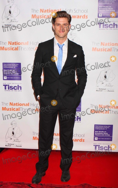 Aaron Tveit Photo - Aaron Tveit Arriving at the 3rd Annual National High School Musical Theater Jimmy Awards at the Minksoff Theatre in New York City on 06-27-2011 Photo by Henry Mcgee-Globe Photos Inc 2011