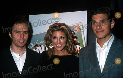 Andrew Davoli Photo - Sd0926 Welcome to Collinwood Screening at the Bryant Park Hotel New York City Photo Henry Mcgee Globe Photos Inc 2002 Sam Rockwell Jennifer Esposito  Andrew Davoli