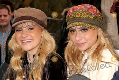 Aly and AJ Photo - Aly  Aj at the 79th Annual Macys Thanksgiving Day Parade on Central Park West in New York City on 11-24-2005 Photo by Henry McgeeGlobe Photos Inc 2005