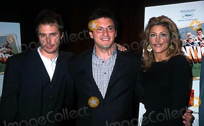 Anthony Russo Photo - Sd0926 Welcome to Collinwood Screening at the Bryant Park Hotel New York City Photo Henry Mcgee Globe Photos Inc 2002 Sam Rockwell Anthony Russo  Jennifer Esposito
