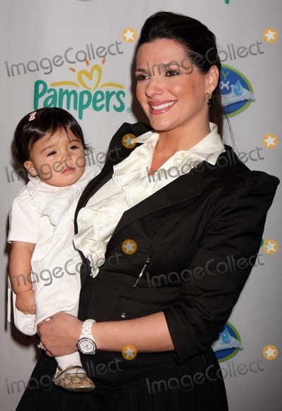 Barbara Bermudo Photo - Barbara Bermudo with Daughter Mia Andrea Arriving at Launch of Pampers Swaddlers and Cruisers with Dry Max at Helen Mills in New York City on 03-18-2010 Photo by Henry Mcgee-Globe Photos Inc 2010