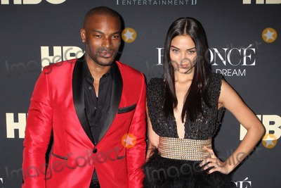 Beyonce Photo - Tyson Beckford and Shanina Shaik Arriving at the Premiere of Hbos Beyonce Life Is but a Dream at the Ziegfeld Theater in New York City on 02-12-2013 Photo by Henry Mcgee-Globe Photos Inc 2013