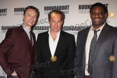 Ben Daniels Photo - Ben Daniels Adam James and David Aron Damane Attend a Press Junket with the Stars of Roundabout Theatre Companys dont Dress For Dinner at the American Airlines Theatre in New York City on March 15 2012 Photo by Henry Mcgee-Globe Photos Inc 2012