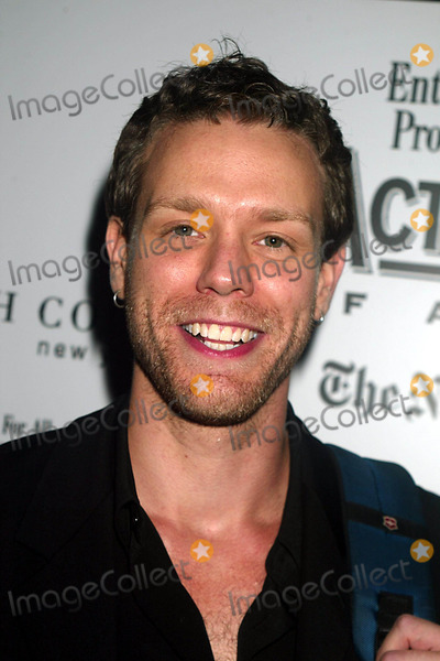 Adam Pascal Photo - Adam Pascal at Post-show Party For the Third Annual Actors Fund of America Benefit Concert of Chess at Johns Pizzeria in New York City on September 22 2003 Photo Henry McgeeGlobe Photos Inc 2003
