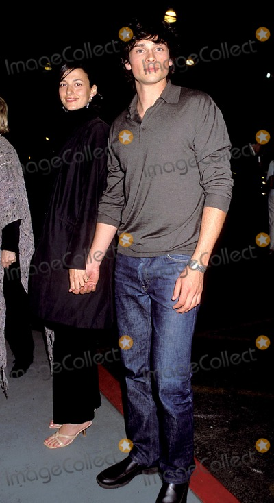 Jamie White Photo - Sd0515 Wb Upfront 2001 Party at the Lighthouse at Chelsea Piers in New York City Tom Welling_girlfriend Jamie White Photo Byhenry McgeeGlobe Photos Inc