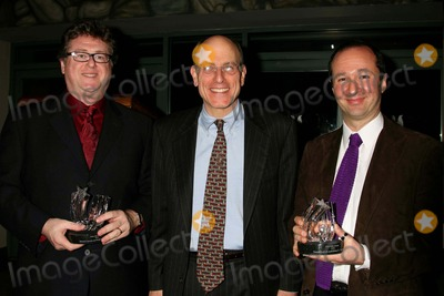 Fred Ebb Photo - ROBERT L FREEDMAN FRED EBB FOUNDATION TRUSTEE MITCHELL S BERNARD AND STEVEN LUDVAK AT THE 2006 FRED EBB AWARD COCKTAIL RECEPTION HONORING THE MUSICAL THEATRE SONGWRITING TEAM IN THE PENTHOUSE LOUNGE AT THE AMERICAN AIRLINES THEATRE IN NEW YORK CITY ON 11-28-2006  PHOTO BY HENRY McGEEGLOBE PHOTOS INC 2006K50903HMc