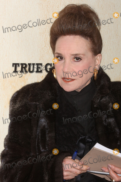 Cindy Adams Photo - New York NY 12-14-2010Cindy Adams at the premiere of TRUE GRIT at the Ziegfeld TheaterDigital photo by Lane Ericcson-PHOTOlinknet